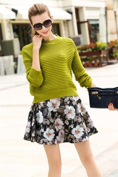 Fall Clothing Set--Top+Skirts  Y435