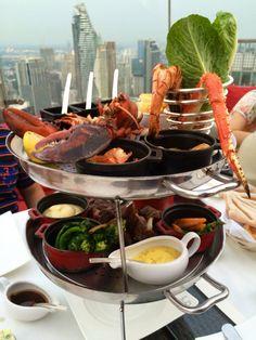 Rib Eye Wagyu, Australian Lamp Rack, Grilled Maine Lobster, Giant Andaman Shrimp, Alaska King Crab, Hokkaido Scallops