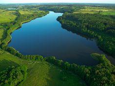 The Masurian Lake District.