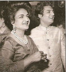 Maharani Sita Devi Sahib with her son Prince Sayaji Rao Gaekwad of Baroda affectionately named Princie. In 1960 Van Cleef and Arpels held a party to celebrate their aquisition of a pink 34.65 carat diamond previously owned by the Nizam of Hyderabad, where the maharani and her son were special guests. They named the diamond the 'Princie Pink Diamond' in honour of her son.