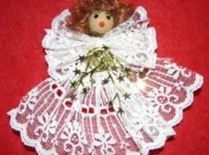 Creating Christmas decorations and crafts is a tradition in my family. Here I show you how to make many angels including ornaments, pins and tree toppers and links to more ideas and books. Cheap Christmas Crafts, Simple Christmas, Christmas Decorations, Christmas Ornaments, Christmas Ideas, Angel Ornaments, Christmas Centerpieces, Christmas Stuff, Christmas Projects