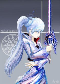 Undoubtful Weiss (deraken on pixiv) : RWBY