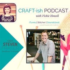 Craft-ish Podcast Episode 3: @spoonflower Co-Founder, Stephen Fraser