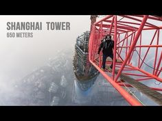 Shanghai Tower Climb (650 meters) - YouTube The world's second tallest building