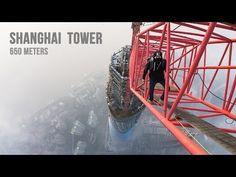 Insane Russians climb the 2132-foot Shanghai Tower barehanded