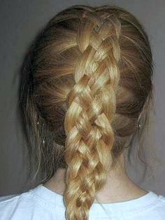 I can do a 4 strand french braid...now its time to learn how to do 5 strand one
