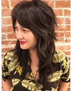 Long Shag Haircuts: 36 Examples for 2019 37 Greatest Long Shag Haircuts to Try in 2018 Long Layered Hair, Long Hair Cuts, Long Curly Hair, Curly Hair Styles, Natural Hair Styles, Long Wavy Layers, Modern Shag Haircut, Long Shag Haircut, Summer Hairstyles