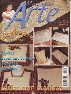 MANIA DE ARTE Nº36 - Lucia Crochê - Álbuns da web do Picasa