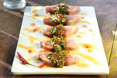 Şık Lakerda Food L, Food Porn, Happy Kitchen, Grilled Fish, Recipe Sites, Sweet Chili, A Table, Turkish Recipes, French Food