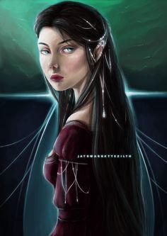Арвен  Arwen by Jatrwarnettezilth on DeviantArt