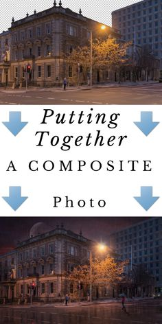 Putting together a composite photo in photoshop by Justin James Photgraphy.