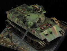 Hello there!  Here is my latest build!  I just finished this Paperpanzer from Trumpeter.  The kit is good, but you need to replace the tracks. I opted for H...