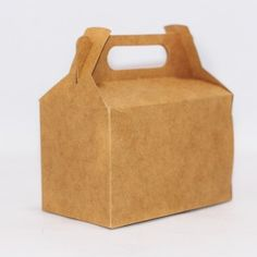 Brown Cardboard Party or Gift Box