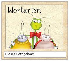 Deutsch in der Grundschule: Wortartenheftchen