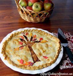 decrative fall pies | Creative Food Ideas
