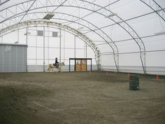 72' clear span arena