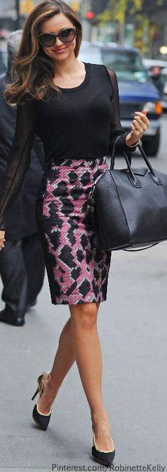 Street Style   Miranda Kerr