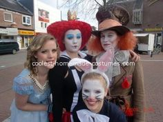 Alice in Wonderland Group Costume... This website is the Pinterest of costumes