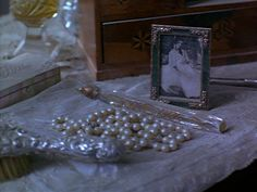 Still from The Secret Garden (1993), loved this scene of the vanity table as a kid