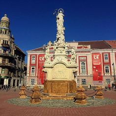 Liberty Square- Timisoara, Romania.