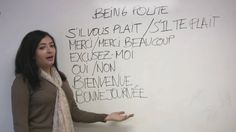 French for Beginners - Speak politely in French