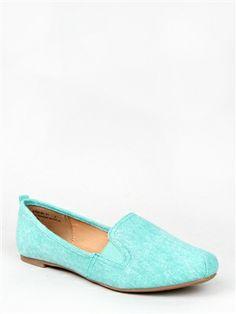 Bamboo ROSALBA-01 Elastic Inset Loafer Flat   Shop Shoes