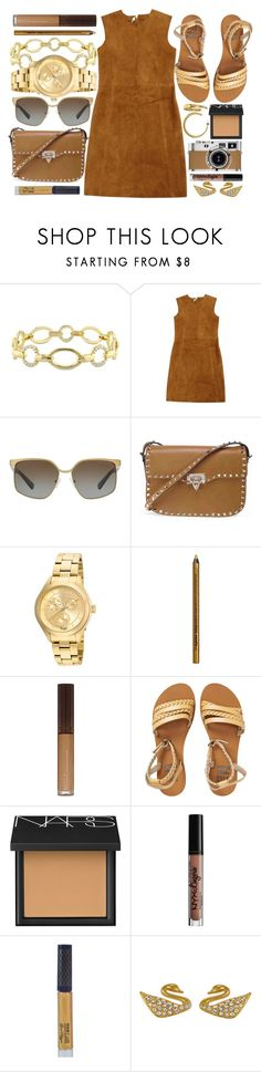 """Caffe Late"" by jomashop ❤ liked on Polyvore featuring Versace 19•69, Laurence Doligé, Michael Kors, Valentino, Invicta, NYX, Billabong, NARS Cosmetics, Hermès and Winky Lux"
