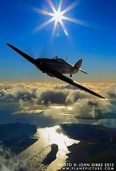 A nice shot of a Hawker Hurrican. Hawker Hurricane, Aviation Art, Aircraft, Sci Fi, Nice, Aviation, Science Fiction, Planes, Nice France
