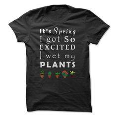 Wet My Plants tshirt - 1