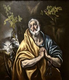 The Penitent Saint Peter by El Greco, San Diego Museum of Art