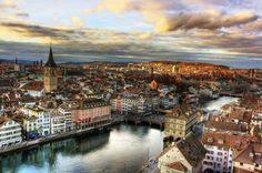 Zurich, Switzerland ... amazing place