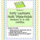 This is a great little math bundle with number cards and pictures that match up to 12.  I also put dice values on cards to match. There are th...