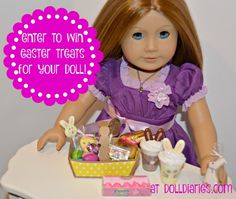 Giveaway – Easter Treats for your Dolls