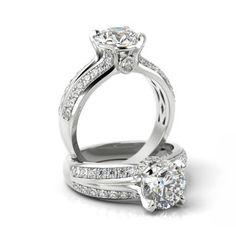 Pokaż szczegóły dla Pierścionek zaręczynowy Pzp2 Engagement Rings, Wedding, Jewelry, Enagement Rings, Valentines Day Weddings, Wedding Rings, Jewlery, Jewerly, Schmuck