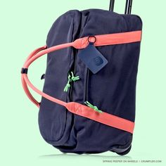 Check out the new Spring Peeper! #crumpler #travel #crumplerwomen #wren #holiday #luggage