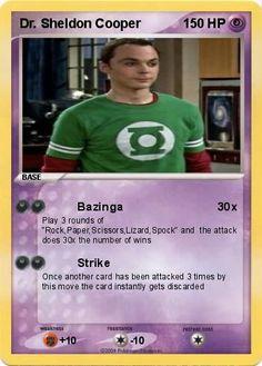 Pokemon Dr. Sheldon Cooper