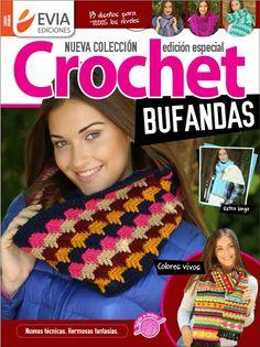 Crochet BUFANDAS - Especial 2017