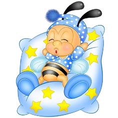 Baby Cartoon Bees Are Free To Copy For Your Own Personal Use. Clipart Baby, Cute Clipart, Kids Cards, Baby Cards, Cute Images, Cute Pictures, Bee Rocks, Baby Clip Art, Cute Bee