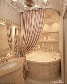Home Decoration is a kind of skill that needs to be adopted from various sources. To get thorough knowledge about home decoration, you can visit your friends or colleagues house; Dream Bathrooms, Beautiful Bathrooms, Style At Home, Bathroom Design Luxury, Bathroom Designs, Bathroom Closet, Home Remodeling, Home Fashion, Bedroom Decor