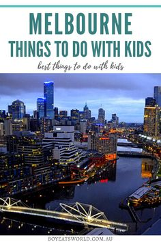 Are you looking for fun things to do in Melbourne with kids? Here are the top things to do with kids in Melbourne. In this guide you'll discover how to plan a family getaway in Melbourne including what to do and where to stay! I what to do with kids in Melbourne I Melbourne with family I family travel in Australia I Australia travel I where to go in Australia I family activities in Australia I family activities in Melbourne I Melbourne family travel tips I #Australia #familytravel #Melbourne Toddler Travel, Travel With Kids, Family Travel, Road Trip With Kids, Family Road Trips, Travel Expert, Travel Tips, Australian Photography, Kakadu National Park
