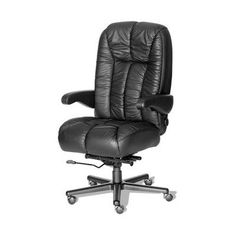 ERA Products Office Chairs Comfort Series Newport Executive Chair Upholstery: Black/Chrome, Casters: Carpet