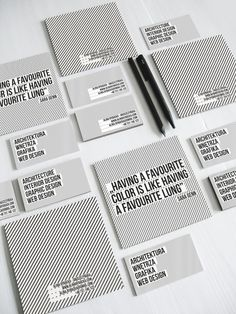 Nice black and white #personal #brand #identity & Self Promotion