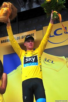 Chris Froome had a tough day but survived and takes the race lead into the first rest day