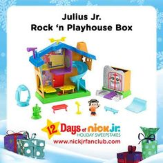This Julius Jr. playhouse box is out-of-this-world awesome!