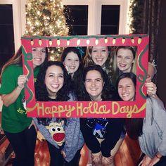 Happy Holla Days photo frame