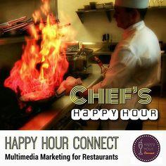 • 24/7 Happy Hour Connection • Restaurant & Bar Specials • Join the Network #HappyHourConnect #HappyHour Multimedia Marketing for Restaurants #Restaurant #Bar #Menu #RestaurantMarketing #Breakfast...
