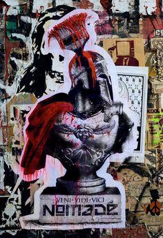 Nomadé, Bust, Los Angeles - unurth   street art
