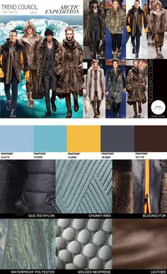 TREND COUNCIL F/W 2014 #COLOR- ARCTIC EXPEDITION