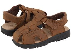Salt Water Sandal by Hoy Shoes Sun-San - Shark II (Toddler/Little Kid) Brown - Zappos.com Free Shipping BOTH Ways
