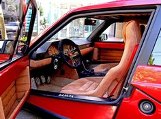 Lancia Delta S4 Stradale wonderful interior.